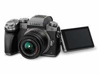 Беззеркальный фотоаппарат Panasonic Lumix DMC-G7 Kit 14-42mm (Серебристый)