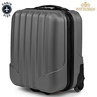 Чемодан для ручной клади Wittchen VIP Collection V25-10-232-00 серый ABS 42 см