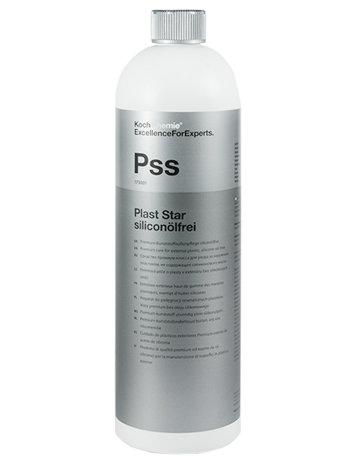 Средство для резины, шин и пластика автомобиля (без силикона) PLAST STAR SILICONOLFREI, 1 л, Koch Chemie