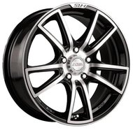 Диск RACING WHEELS H-411 6.5x15/5x105 D56.6 ET35 BK - фото 1