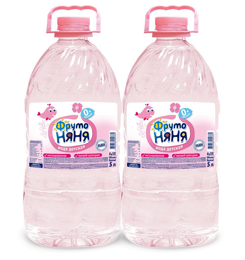 Детская вода ФрутоНяня, c рождения