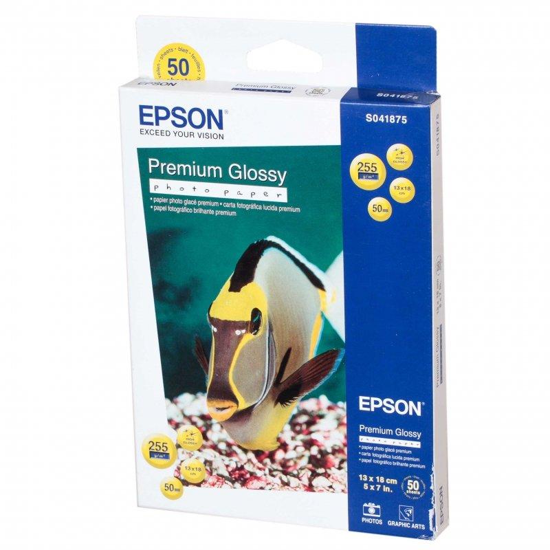 Бумага EPSON Premium Glossy Photo Paper 13x18 (50 листов)