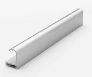 Анодированный алюминиевый профиль. Матовое серебро 3.05 м. №2 Nielsen 202004