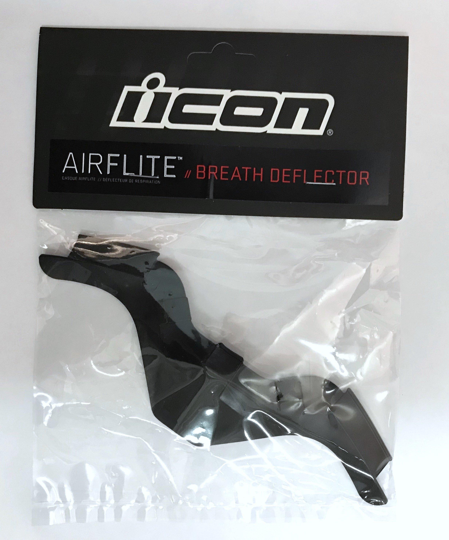 Дефлектор дыхания для шлема Icon Airflite черный
