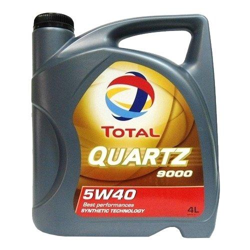 Моторное масло TOTAL Quartz 9000 5W40 4 л