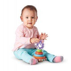 деревянные игрушки Melissa & Doug «Первые навыки» Пирамидка-Слоник