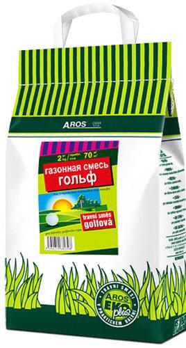 Газонная смесь AROS EKOplus, гольф, 2 кг (3311)