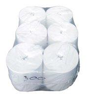 Рулонные бумажные полотенца для диспенсеров центральной вытяжки (6 рул./кор. 1сл.) арт.21300