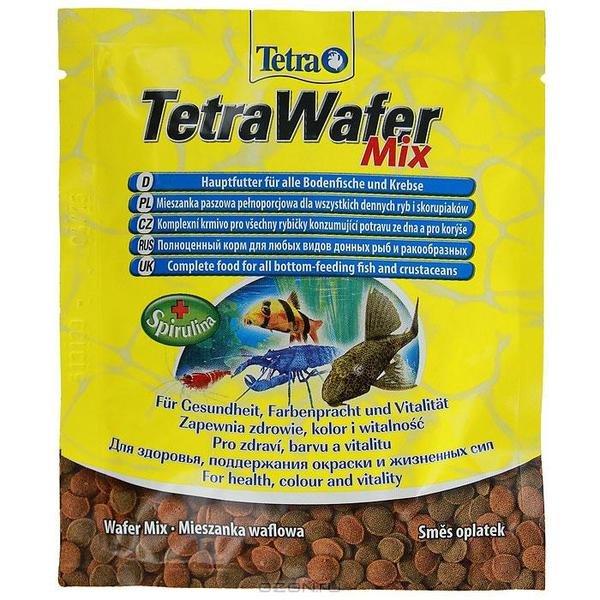 "Корм для всех донных рыб ""Tetra Wafer Mix"", 15 г"