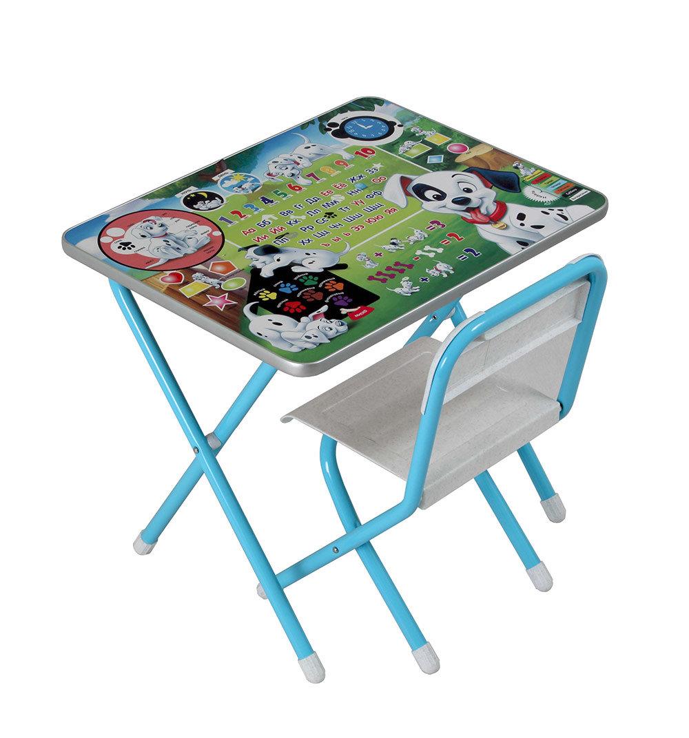 Набор детской мебели Дэми Далматинцы, цвет: голубой
