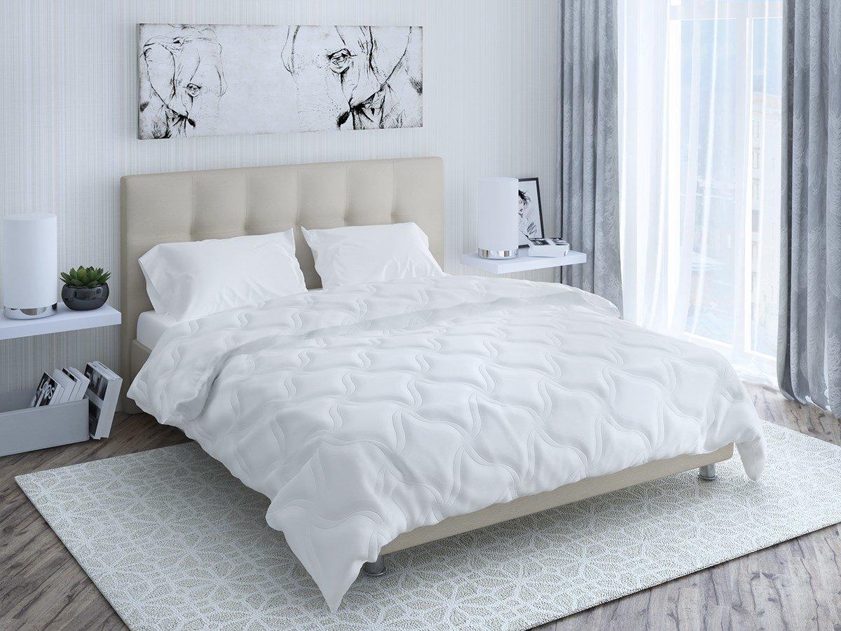 Детское одеяло Промтекс-Ориент Swon Mik Лето 120x120 см (120x120 см, 120 x 120 см, 1200 x 1200 мм) для ребенка, Искусственный лебяжий пух 100%