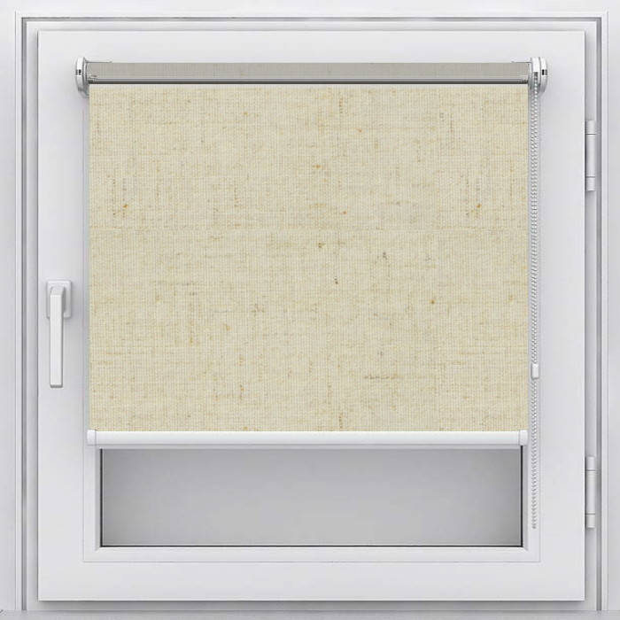 Рулонная штора Мастер Плюс Рулонная штора на пластиковое окно Лен
