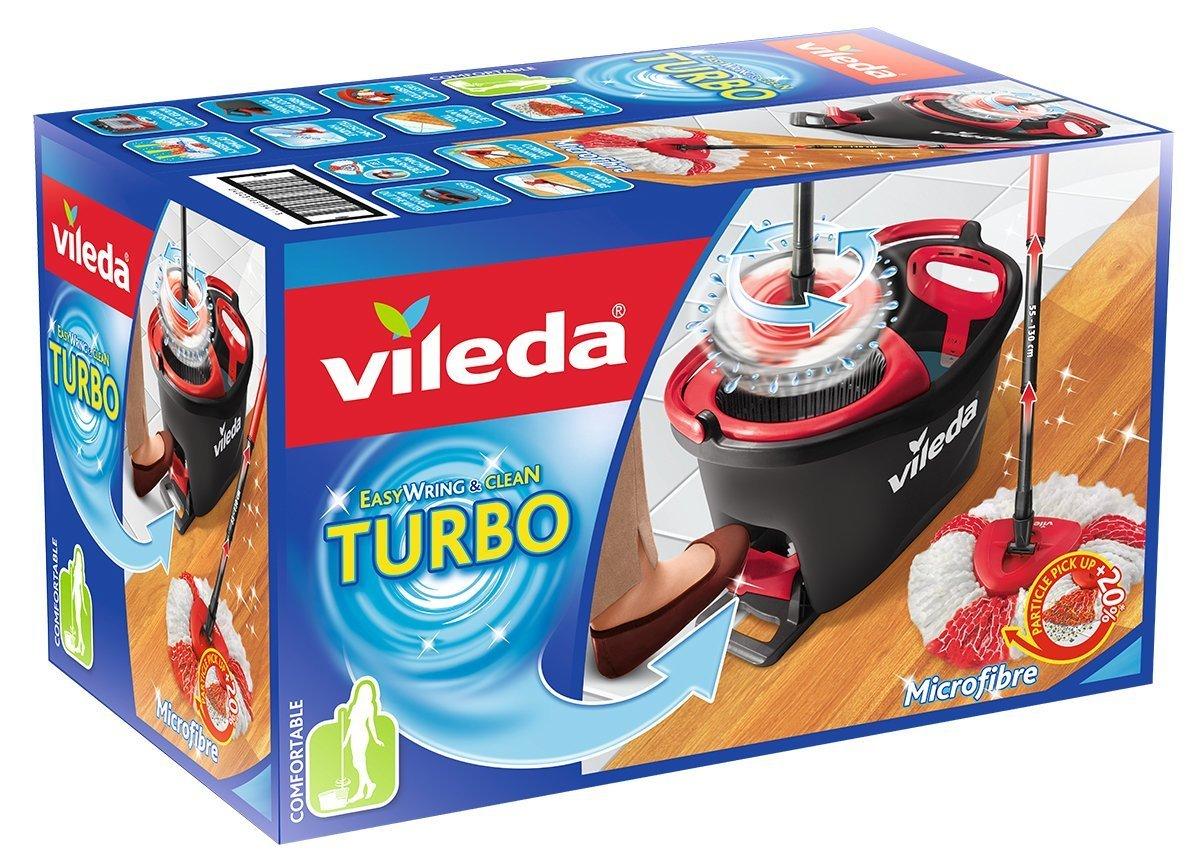 Набор Vileda Easy Wring швабра + ведро с педальным отжимом