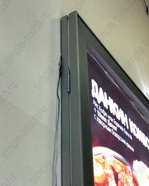 Simple Touch Лайтбокс Outdoor с шестигранником формата (сити) 1200х1800 мм