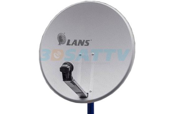 Антенна спутниковая LANS 80см (сетка)