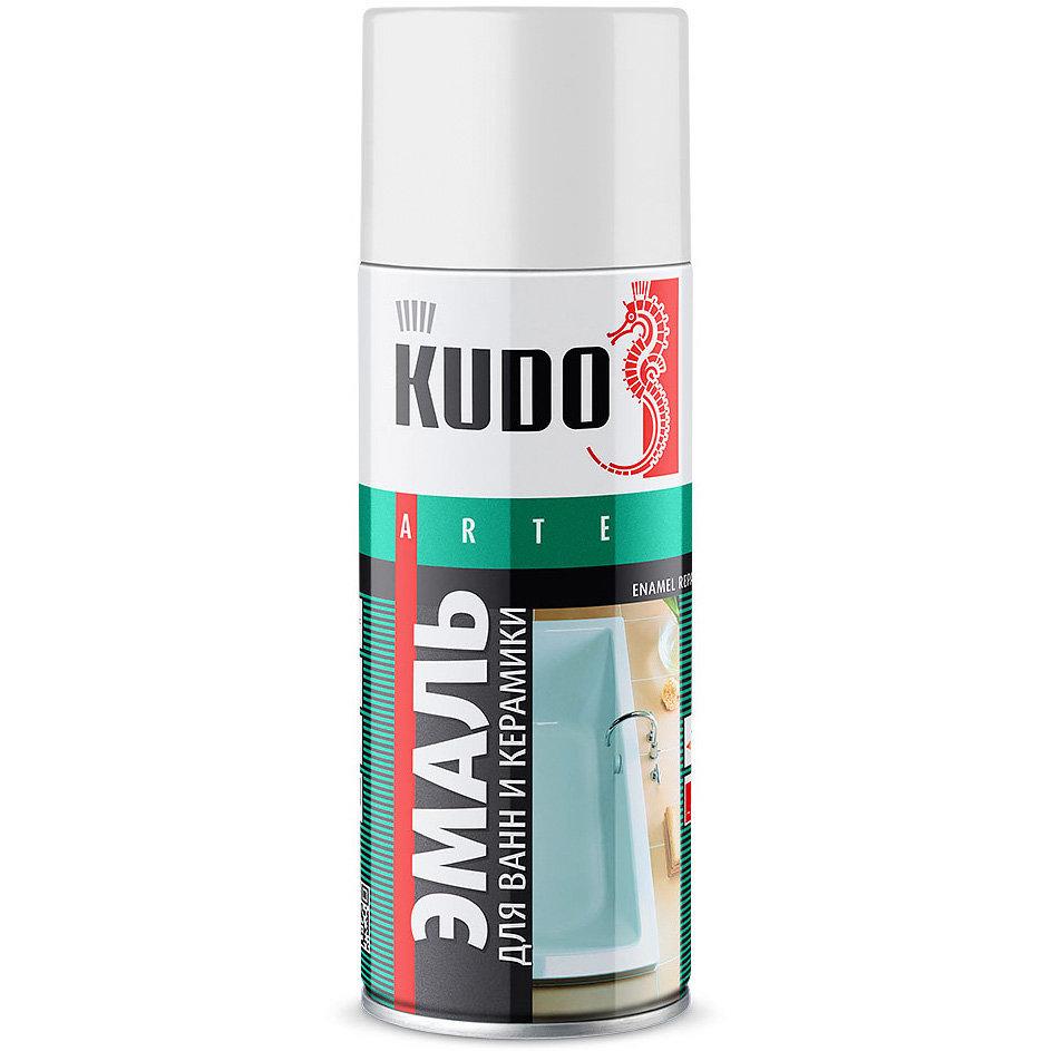 KUDO Эмаль для реставрации ванн и керамики (520 мл)