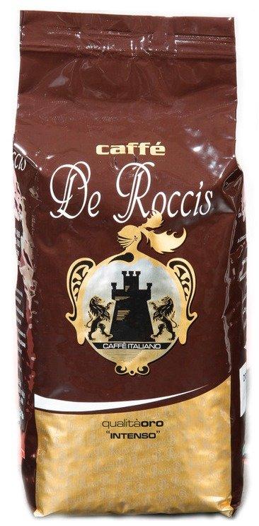 Кофе в зернах De roccis oro зерновой 1000гр