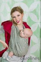 Трикотажные слинги Diva Слинг-шарф новорожденных Basico Damasco