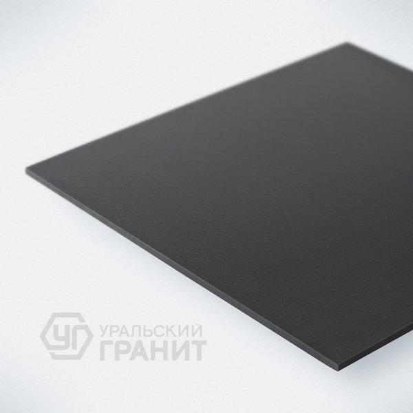 Керамогранит Уральский гранит Грес UF013 (черный) полир. 600х600
