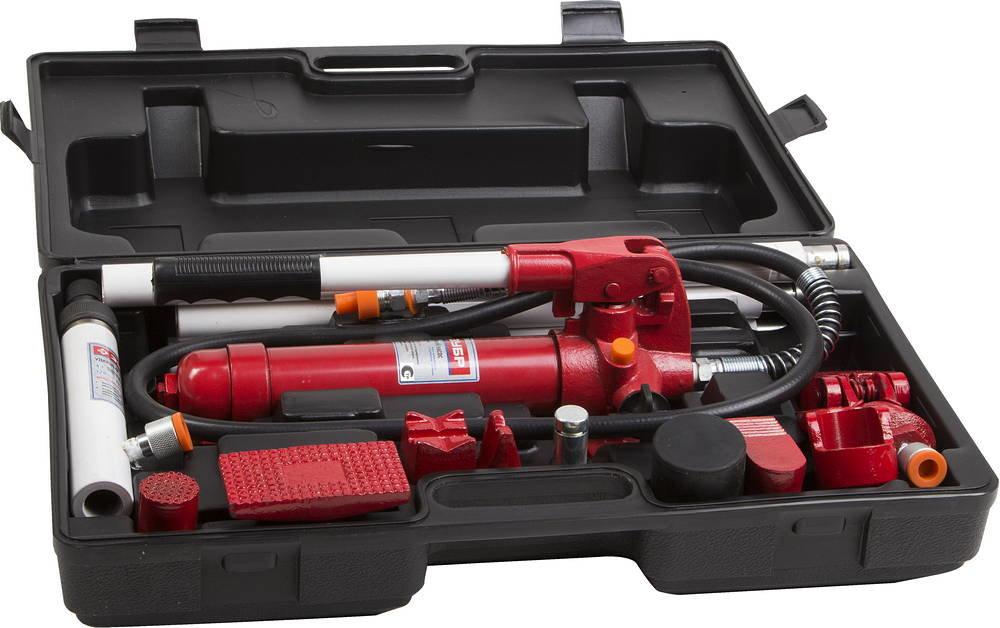 Набор гидравлического инструмента для правки кузова Зубр эксперт 43035-4