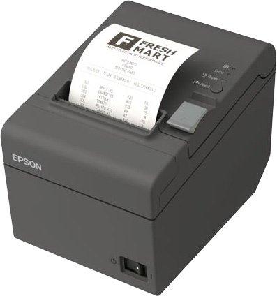 Принтер Epson TM-T20II USB, COM (C31CD52002), темно-серый