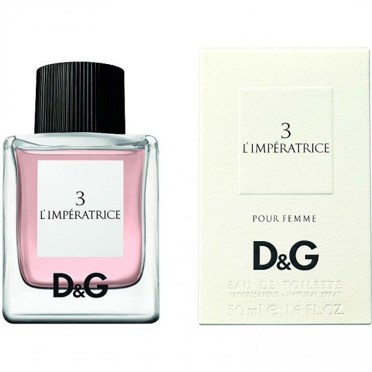 Туалетная вода Dolce And Gabbana женская 3 L`Imperatrice 50 мл