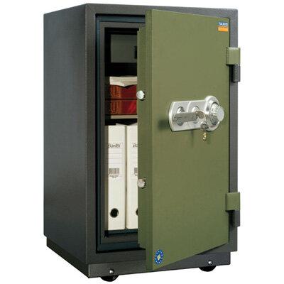 Сейф (к1) VALBERG FRS-80TCL огнестойкий, код+ключ.замок