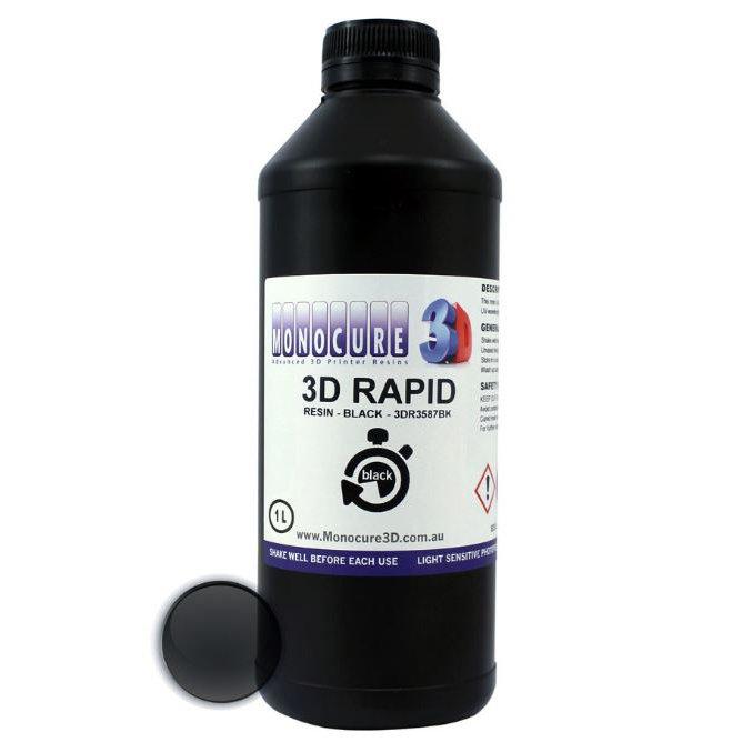 Фотополимер Monocure3D Rapid, чёрный (1 л.) (3DR-3587BK-01B)