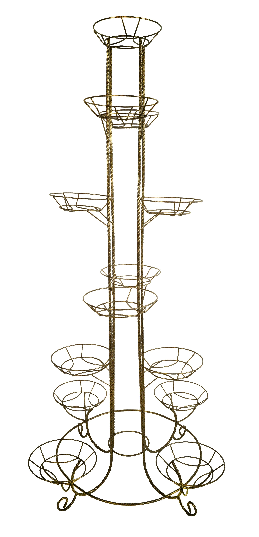 Подставка для цветов напольная Тополь на 13 горшков Арт. М0000078