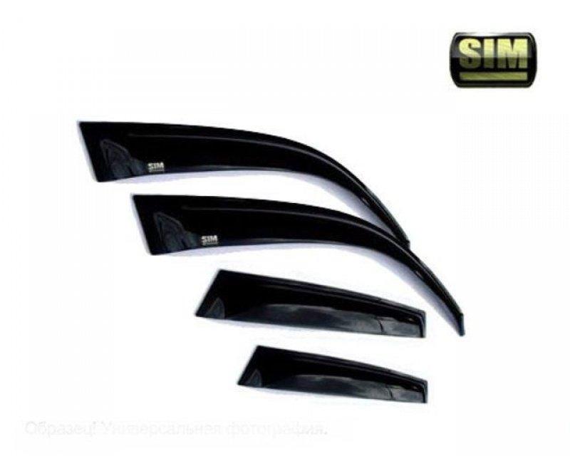 Дефлекторы окон накладные для VW TIGUAN 2008- (SIM)