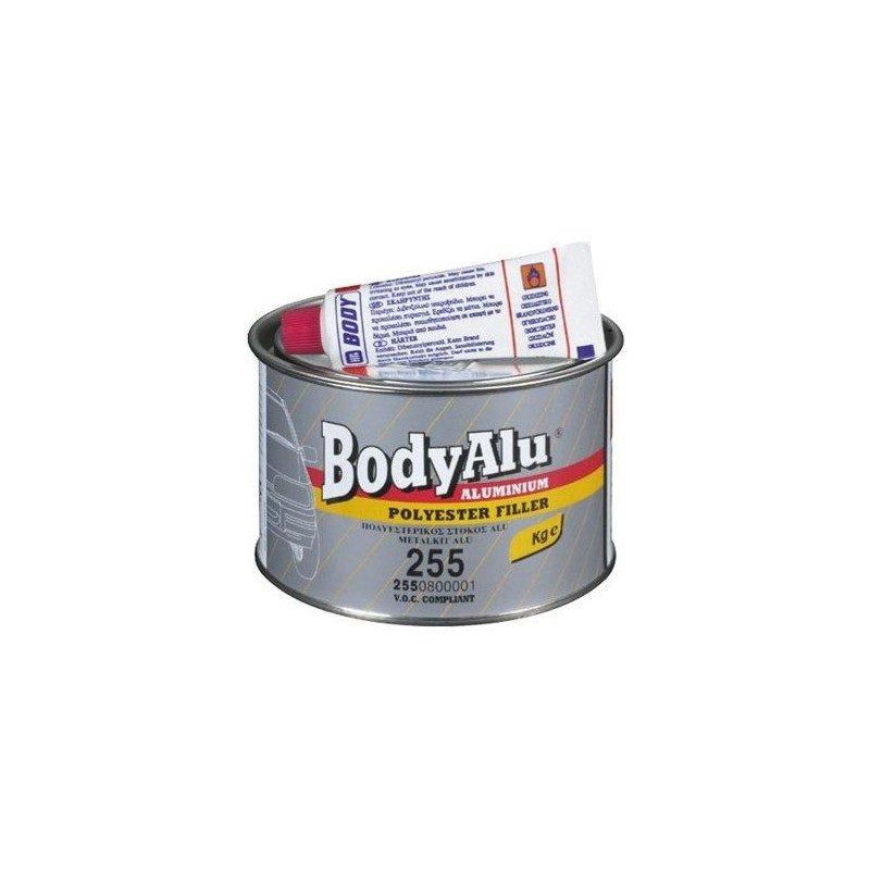 Шпатлевка BODY PRO F255 ALU (2550800050) полиэфирная шпатлевка с алюминиевым наполнителем 0.25 кг. BODY-F255-ALU-0.25