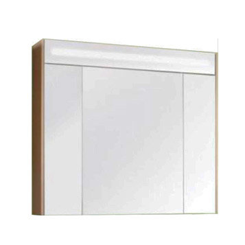 """Акватон. Зеркало-шкаф """"Блент 100"""" кремовый 1A166502BLA70"""