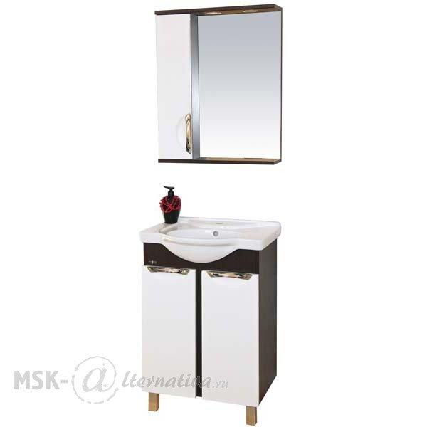 Комплект мебели для ванной Misty Франко 55