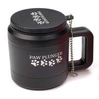 Paw Plunger Лапомойка для собак от 10 до 30 кг (черная)