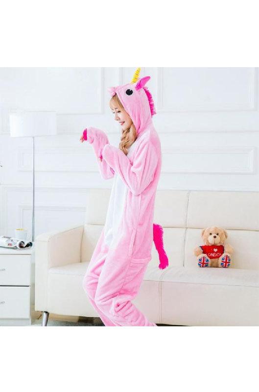пижамы кигуруми розовый единорог - сравните цены и купите пижамы ... 78b8b36f4ea27