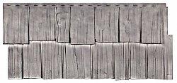 Фасадная панель (цокольный сайдинг) T-siding Щепа Дуб Кавказ