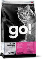 Сухой корм Go! Daily Defence Chicken Recipe с цельной курицей, фруктами и овощами для котят и кошек (7,26 кг, )