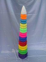 Детские игрушки Совтехстром Развивающая пирамида «Гигант» (большая, высота 110 см)