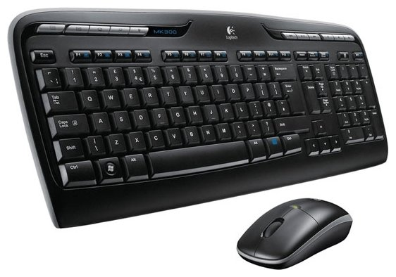 Клавиатура Logitech Wireless Combo MK330 Black USB (920-003995)