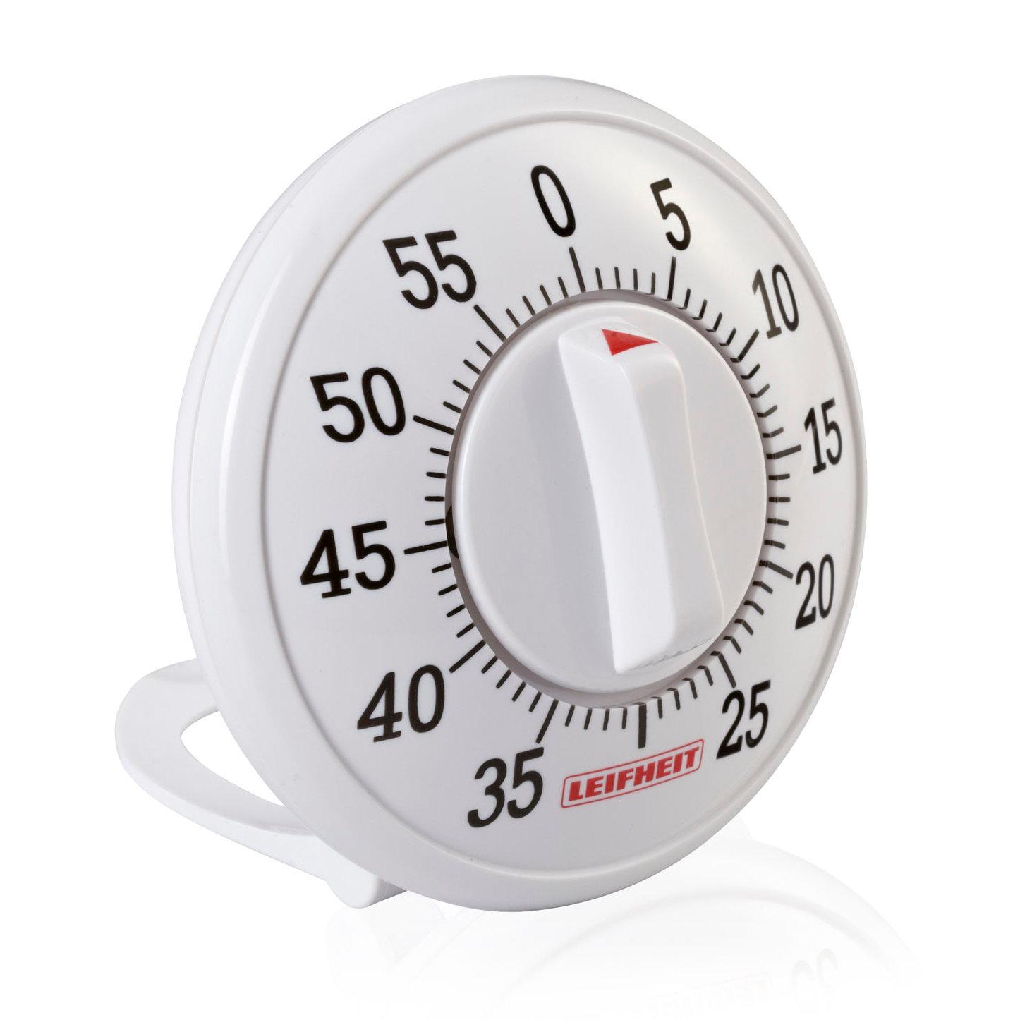 Таймер кухонный Leifheit Signature механический, 60 минут