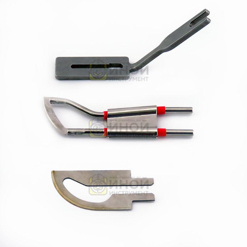 Запасное лезвие, пятка для термоножа Canty KD 5-0 / 5-3 / 7-0 / 7-3 (запасной нож)
