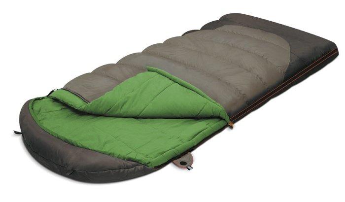 Спальный мешок Alexika Summer Plus Серый левый