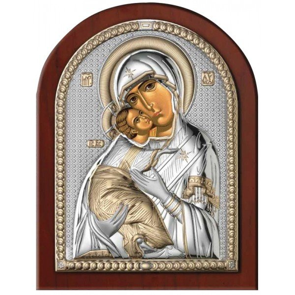 Владимирская Икона Божией Матери, Размер 18х23