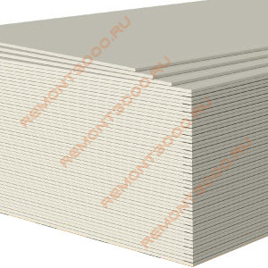 ГИПРОК Лайт гипсокартон 2500х1200х9,5мм (3,0м2) / GYPROC Лайт ГКЛ гипсокартонный лист 2500х1200х9,5мм (3,0 кв.м.)