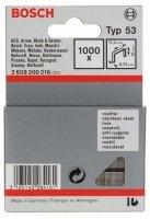 1000 скрепки 10ММ Т53. Нержавеющая сталь 2609200216 Bosch