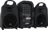 Behringer PPA500BT - 6-канальная портативная система звукоусиления, 500 Вт