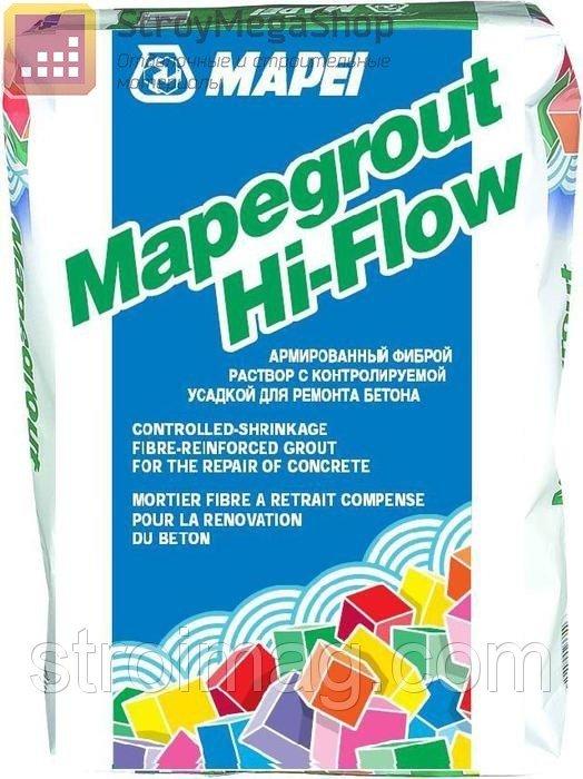 Ремонтная смесь mapegrout hi-flow 25кг. Мапеграут Хай флоу