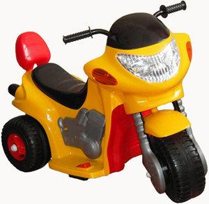 Электромобиль TCV Детский электромотоцикл -520 HAWK желтый