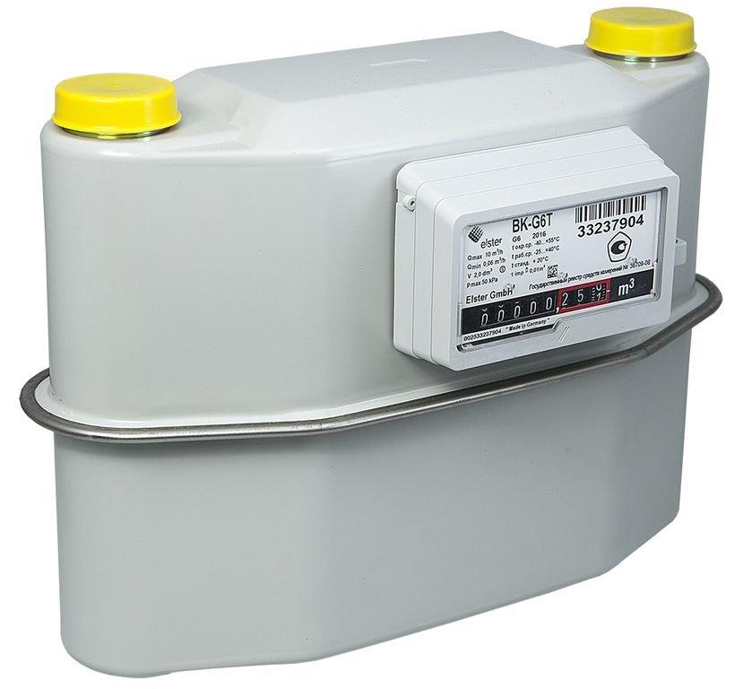 счетчик газа уличный с термокорректором