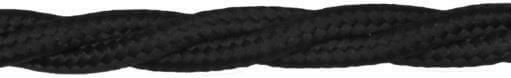 Ретро кабель (50м) 4*0.75 черный, ПВО Подольсккабель